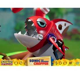Figurine Sonic Generations - Sonic The Hedgehog vs Chopper Diorama 12