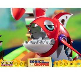 Figurine Sonic Generations - Sonic The Hedgehog vs Chopper Diorama 13