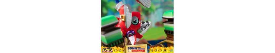 Figurine Sonic Generations - Sonic The Hedgehog vs Chopper Diorama 14