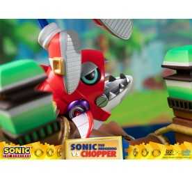 Sonic Generations - Sonic The Hedgehog vs Chopper Diorama figure 14