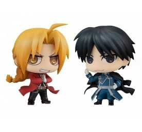 Figurine Chimimega Buddy Series Edward Elric & Roy Mustang Set