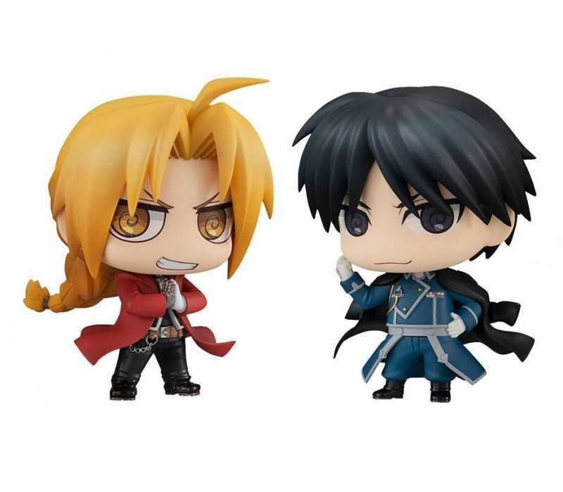 Chimimega Buddy Series Edward Elric & Roy Mustang Set figure