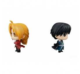 Chimimega Buddy Series Edward Elric & Roy Mustang Set figure 4