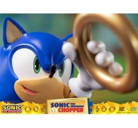 Sonic Generations - Sonic The Hedgehog vs Chopper Diorama figure 15
