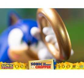 Figurine Sonic Generations - Sonic The Hedgehog vs Chopper Diorama 16