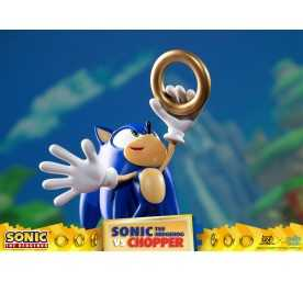 Figurine Sonic Generations - Sonic The Hedgehog vs Chopper Diorama 18