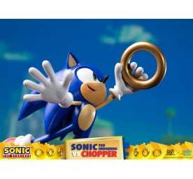 Figurine Sonic Generations - Sonic The Hedgehog vs Chopper Diorama 19
