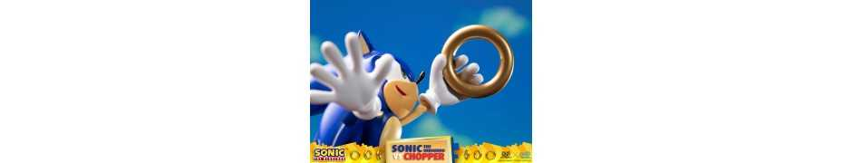 Figurine Sonic Generations - Sonic The Hedgehog vs Chopper Diorama 22