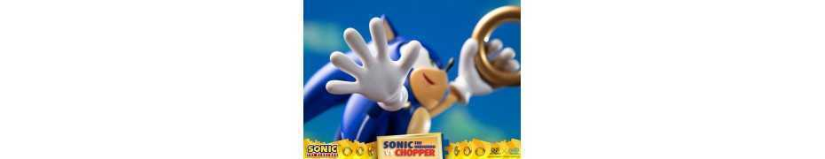 Figurine Sonic Generations - Sonic The Hedgehog vs Chopper Diorama 23