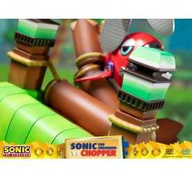 Figurine Sonic Generations - Sonic The Hedgehog vs Chopper Diorama 24