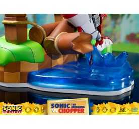 Figurine Sonic Generations - Sonic The Hedgehog vs Chopper Diorama 25