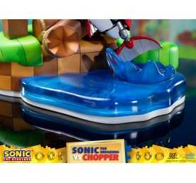 Sonic Generations - Sonic The Hedgehog vs Chopper Diorama figure 26