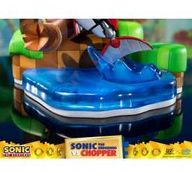 Figurine Sonic Generations - Sonic The Hedgehog vs Chopper Diorama 27