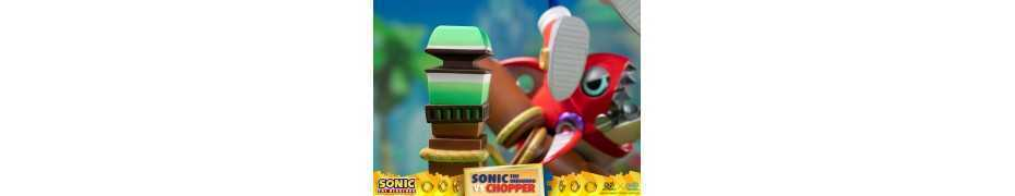 Figurine Sonic Generations - Sonic The Hedgehog vs Chopper Diorama 28