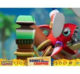 Sonic Generations - Sonic The Hedgehog vs Chopper Diorama figure 28