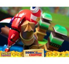 Figurine Sonic Generations - Sonic The Hedgehog vs Chopper Diorama 29