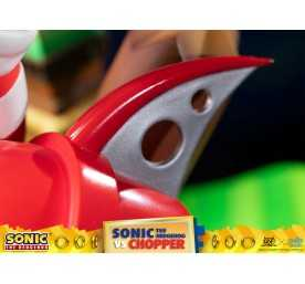 Figurine Sonic Generations - Sonic The Hedgehog vs Chopper Diorama 30