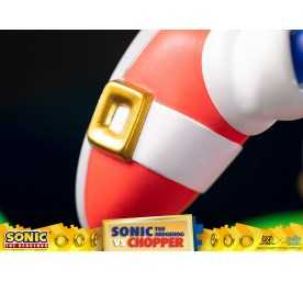 Figurine Sonic Generations - Sonic The Hedgehog vs Chopper Diorama 31