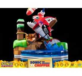 Figurine Sonic Generations - Sonic The Hedgehog vs Chopper Diorama 33