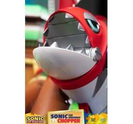 Figurine Sonic Generations - Sonic The Hedgehog vs Chopper Diorama 34