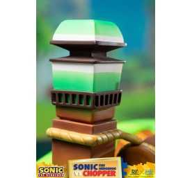 Figurine Sonic Generations - Sonic The Hedgehog vs Chopper Diorama 35