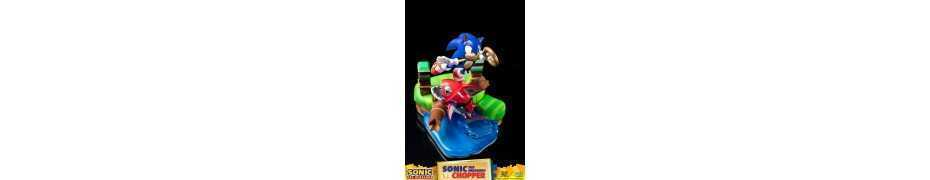 Figurine Sonic Generations - Sonic The Hedgehog vs Chopper Diorama 36