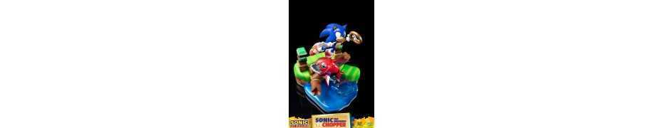 Figurine Sonic Generations - Sonic The Hedgehog vs Chopper Diorama 37