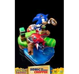 Sonic Generations - Sonic The Hedgehog vs Chopper Diorama figure 37