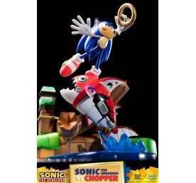Figurine Sonic Generations - Sonic The Hedgehog vs Chopper Diorama 38
