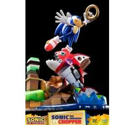 Figurine Sonic Generations - Sonic The Hedgehog vs Chopper Diorama 39