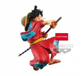 Figurine King of Artist Wanokuni Monkey D. Luffy 2