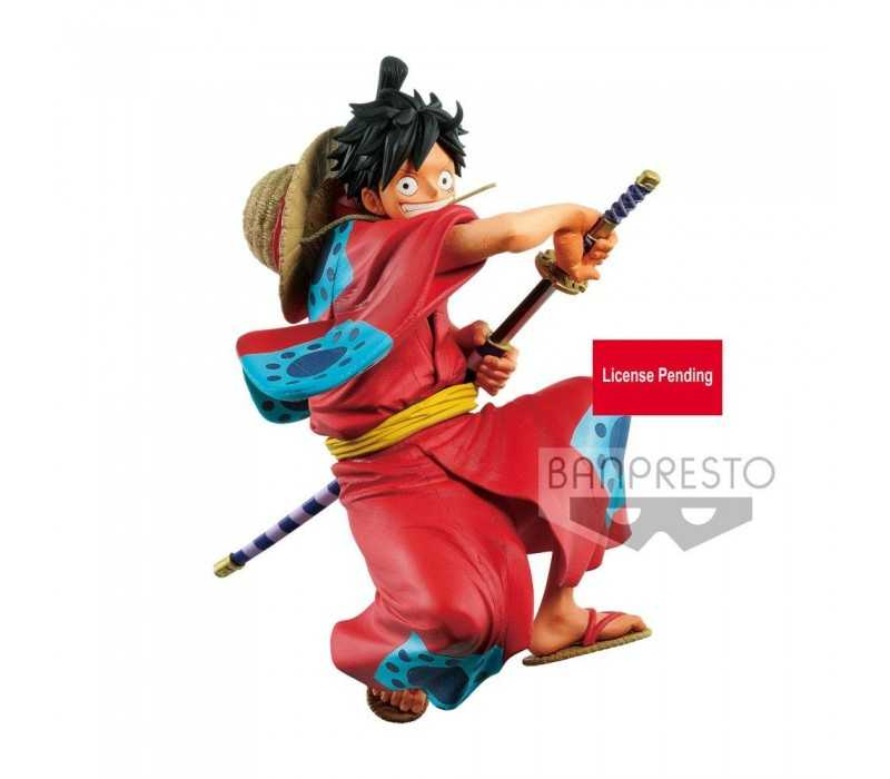 King Of Artist Wanokuni Monkey D Luffy One Piece Banpresto