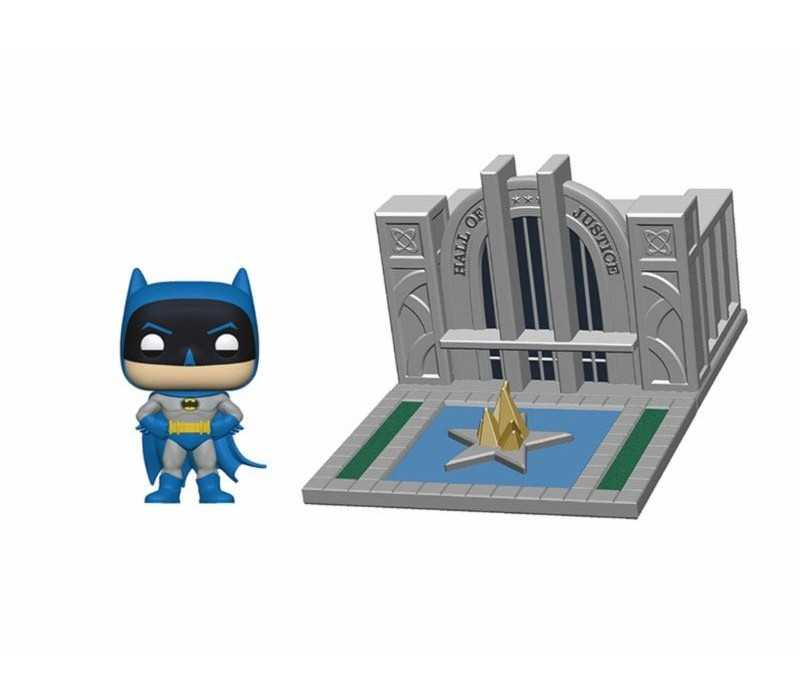 Batman & Hall of Justice POP! Town