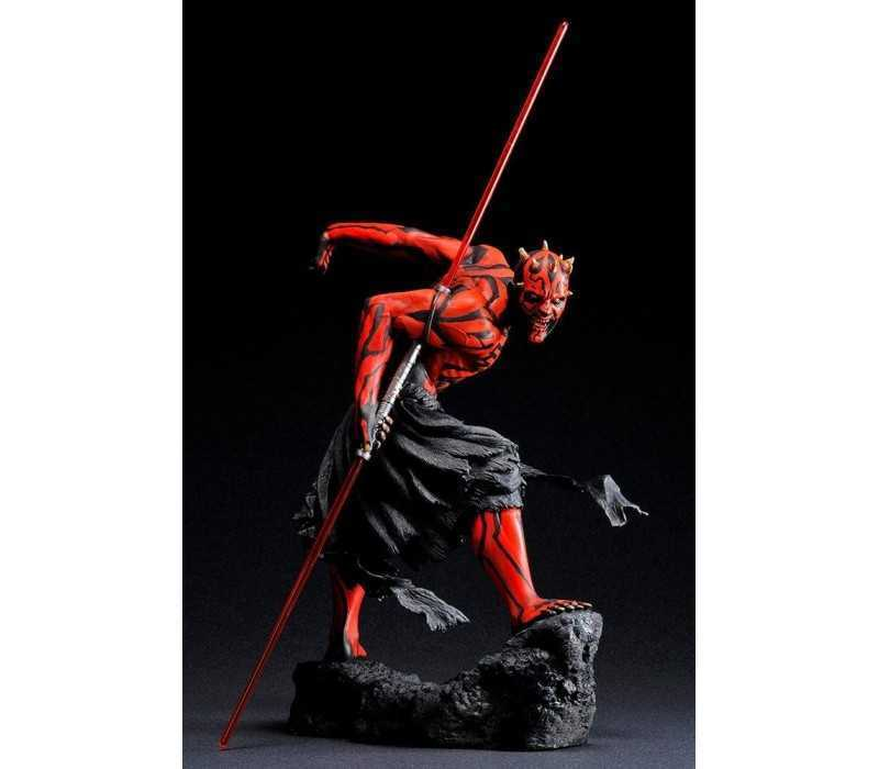 Figurine Star Wars - ARTFX Darth Maul Japanese Ukiyo-E Style Light-Up Edition 2