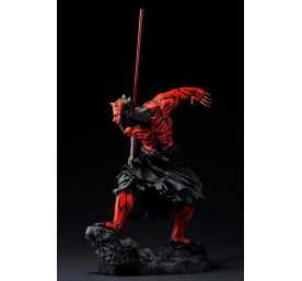 Figurine Star Wars - ARTFX Darth Maul Japanese Ukiyo-E Style Light-Up Edition 3