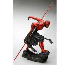 Figurine Star Wars - ARTFX Darth Maul Japanese Ukiyo-E Style Light-Up Edition 4