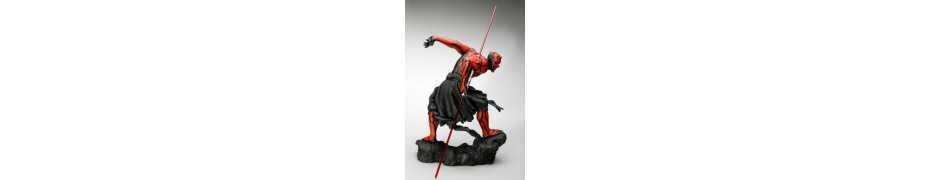 Figurine Star Wars - ARTFX Darth Maul Japanese Ukiyo-E Style Light-Up Edition 5