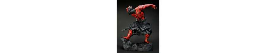Figurine Star Wars - ARTFX Darth Maul Japanese Ukiyo-E Style Light-Up Edition 6