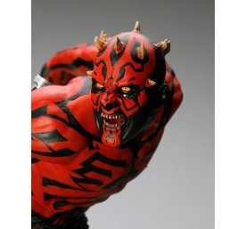 Figurine Star Wars - ARTFX Darth Maul Japanese Ukiyo-E Style Light-Up Edition 7