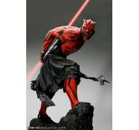 Figurine Star Wars - ARTFX Darth Maul Japanese Ukiyo-E Style Light-Up Edition 9