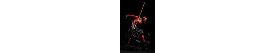 Figurine Star Wars - ARTFX Darth Maul Japanese Ukiyo-E Style Light-Up Edition 10