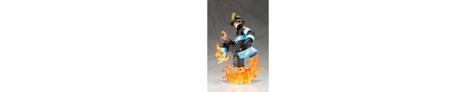 Figurine Fire Force - ARTFXJ Shinra Kusakabe 3