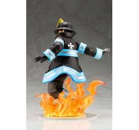 Figurine Fire Force - ARTFXJ Shinra Kusakabe 4