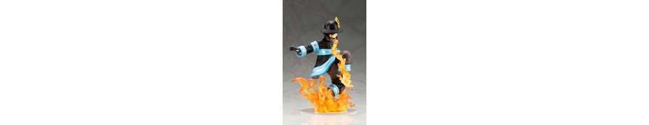 Figurine Fire Force - ARTFXJ Shinra Kusakabe 7
