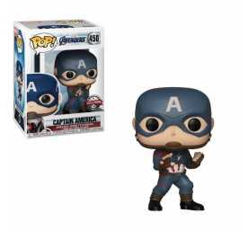Figurine Marvel Avengers Endgame - Captain America Special Edition POP!