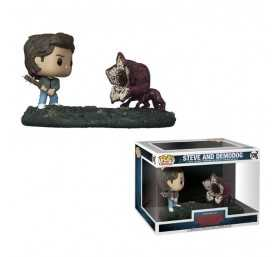 Stranger Things - Movie Moments Steve & Demodog POP! figure