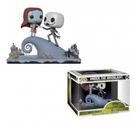 Figurine Disney L'étrange Noël de Mr. Jack - Movie Moments Jack & Sally POP!