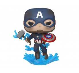 Figurine Marvel Avengers: Endgame - Captain America w/Broken Shield & Mjölnir