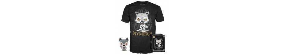 Game of Thrones - figurine POP! & T-Shirt Nymeria