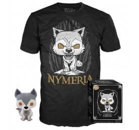 Game of Thrones - figura POP! & T-Shirt Nymeria
